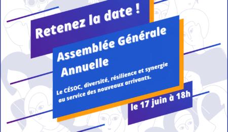 Assemblée Générale 2021 – Retenez la date!